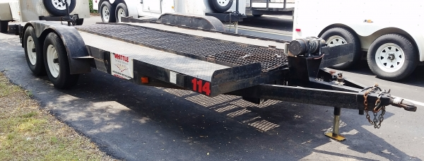 Car Hauling Trailer (Bumper Pulled)